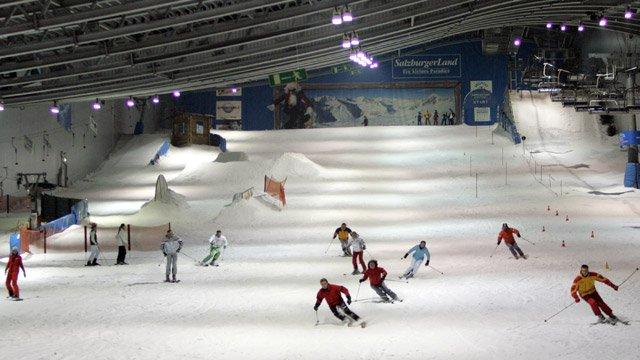 Skifahren für Flachländer