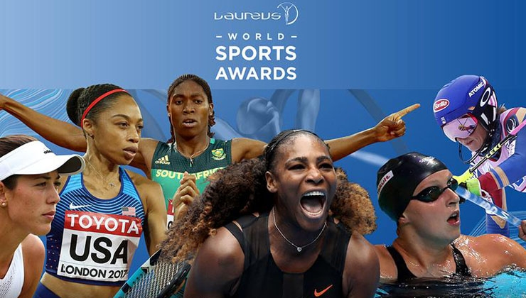 Nominiert für die Laureus World Sport Awards 2018 sind...