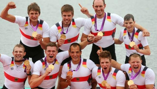 Rudern: Deutschlandachter für Rio nominiert
