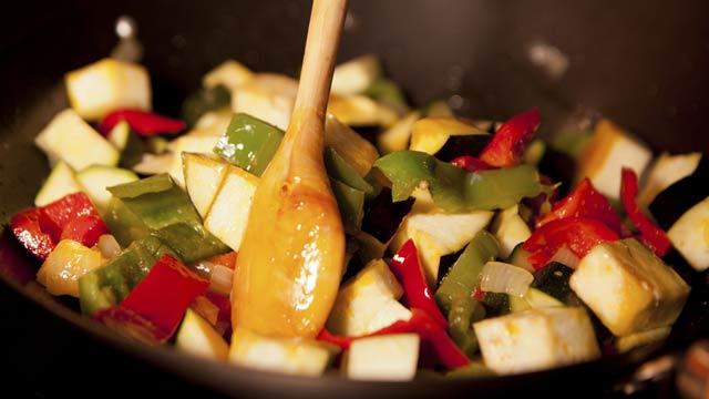 Sport-Rezept: Curry mit Gemüse und Pute