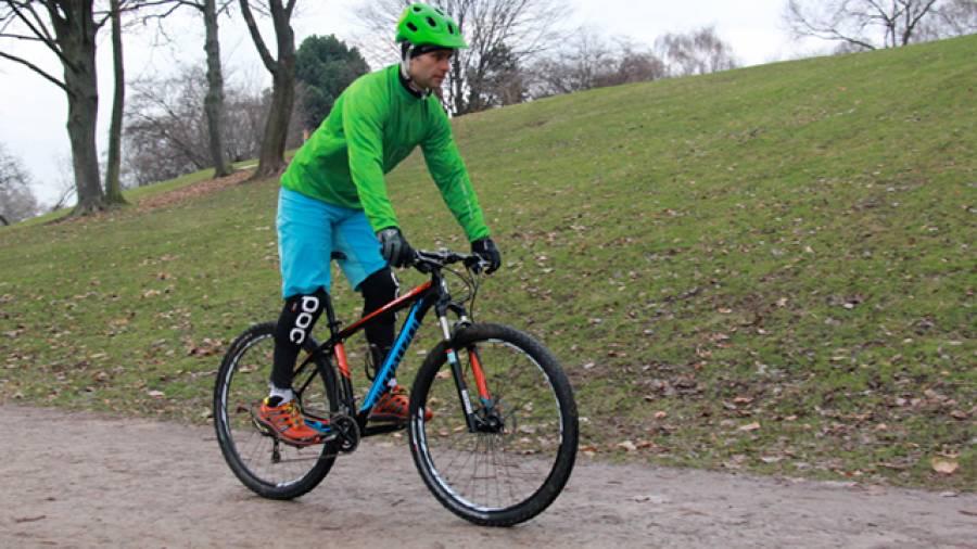 Die Grundposition – Mountainbike-Handling für Einsteiger