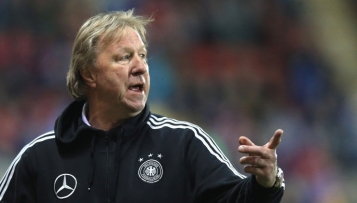 U 21-Trainer Horst Hrubesch