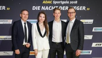 Erfolgreiche Motorsportler in München geehrt