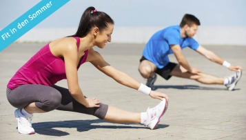 Fit in den Sommer – Trainingsplan Woche 2