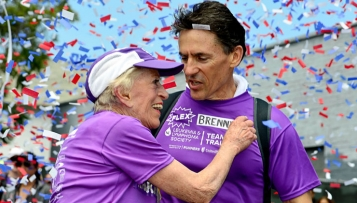 Harriette Thompson ist die älteste Marathonläuferin der Welt