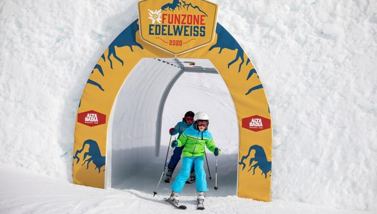Funzone Edelweiß eröffnet - Kids Slopestyle und Funline