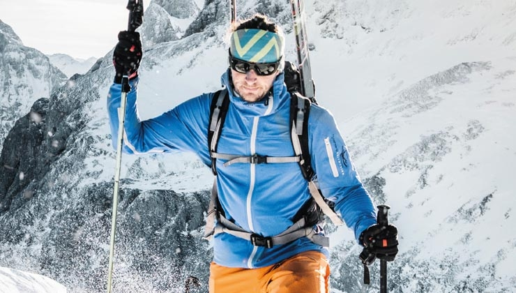 Osttiroler Bergführer steigen mit hyphen-sports auf die Berge