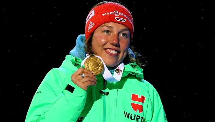 "Laura Dahlmeier ist ""Sportler des Monats"" März"