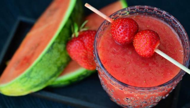 Rezept: Erdbeer-Melonen-Suppe
