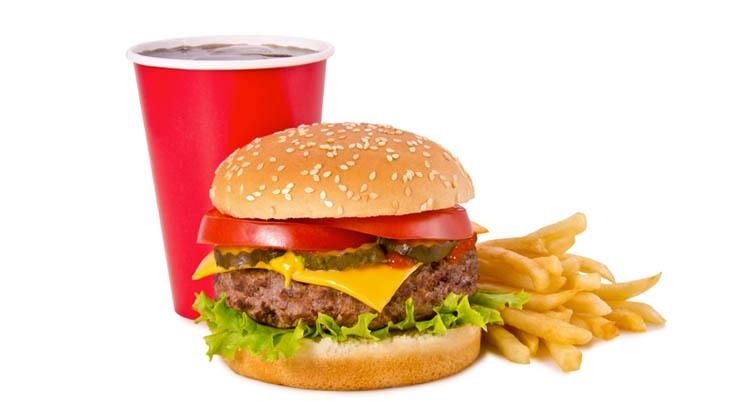 Sportlich genießen mit dem Fast-Food-Rechner