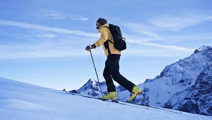 Skitourenpark erleichtert den Einstieg ins Tourengehen