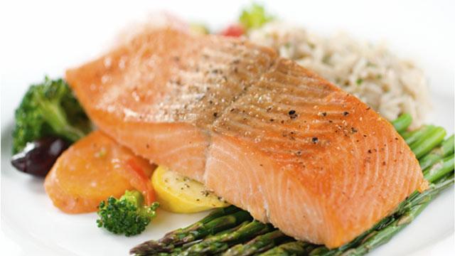 Fett im Fisch muss sein