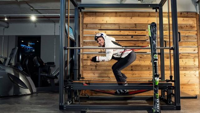 Ski – Krafttraining im Fitness-Studio