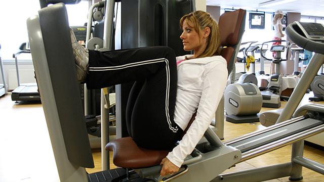 Starke Beine lindern Knieschmerzen