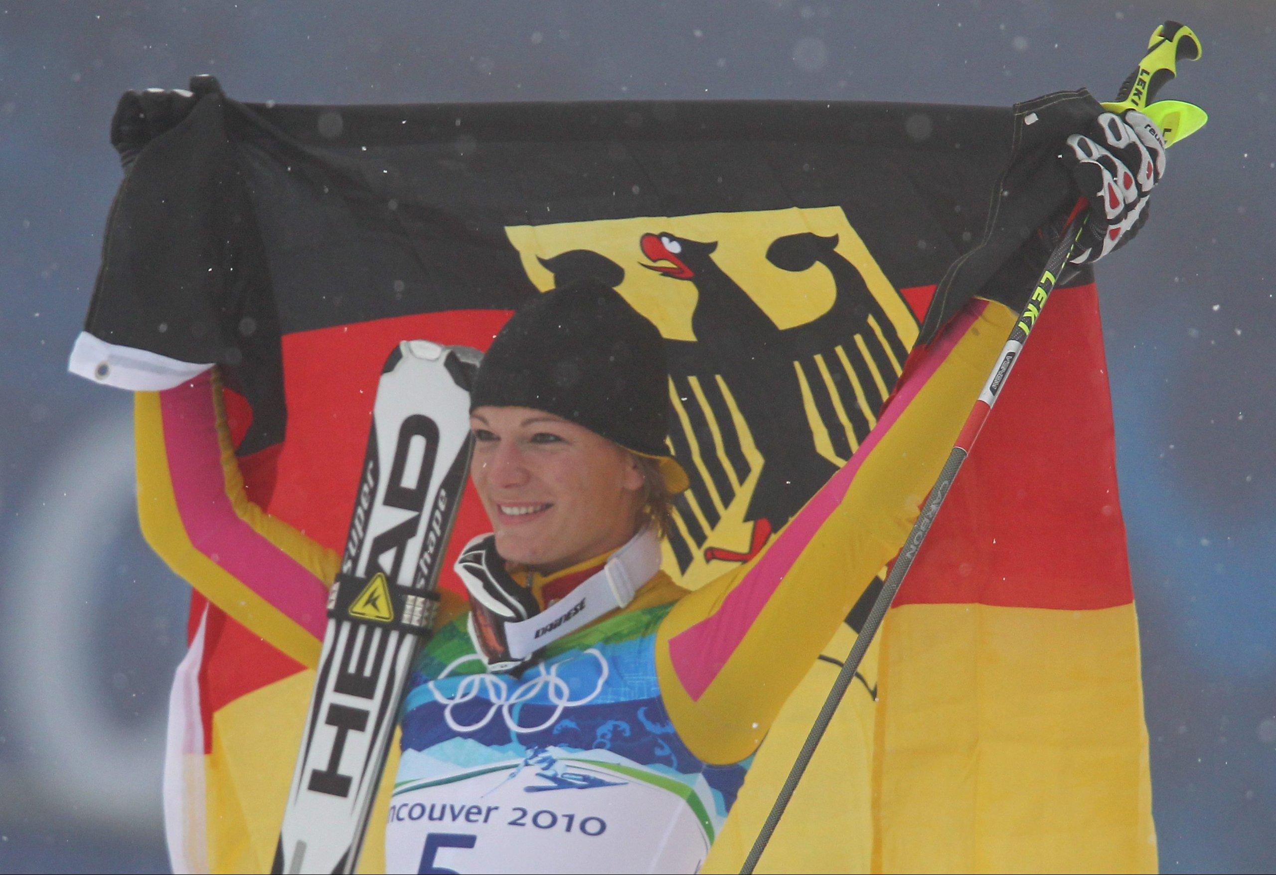 2. Gold für Maria Riesch - Aus für Susi im Slalom