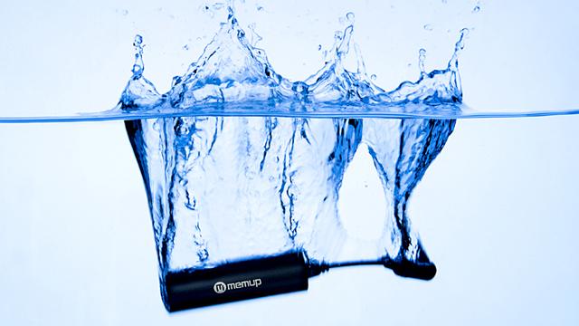 Kanyon – Der wassergeschützte MP 3 Player
