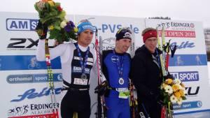 Wintertriathlon  – deutsche Meisterschaft in Oberstaufen