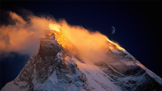 Masherbrum Expedition David Lama, Peter Ortner und Hansjörg Auer müssen abbrechen