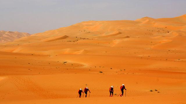 Abu Dhabi Adventure Challenge 2009: der 3. Tag