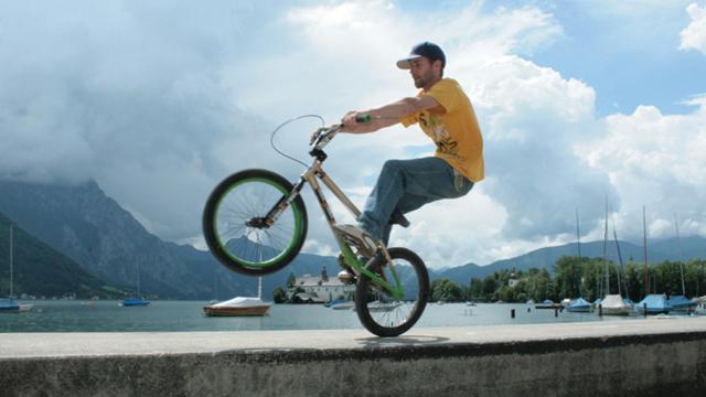 BMX-Tricks mit Benno Hankowetz