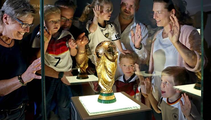 Deutsches Fußballmuseum bestätigt starke Besucherzahlen