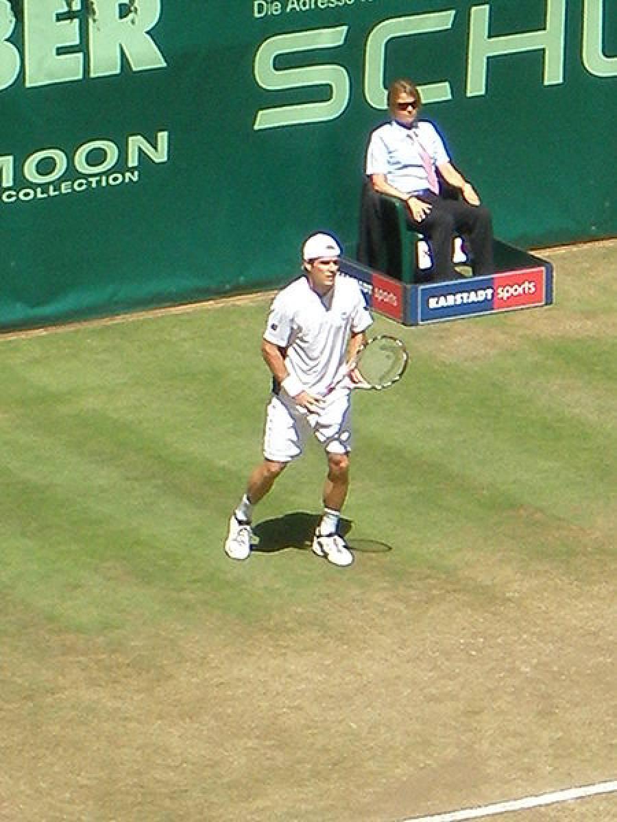 Aus im Halbfinale - Thomy Haas scheitert an Roger Federer