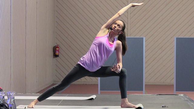 Yoga mit Kate Hall