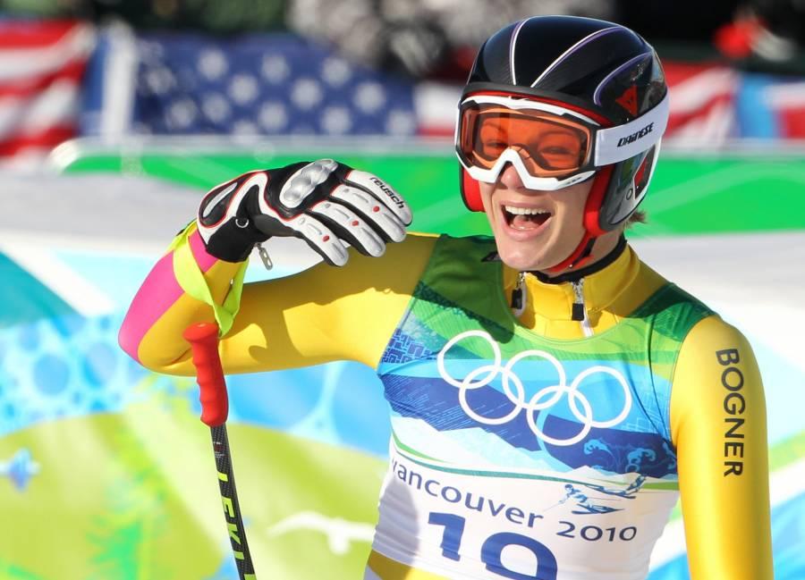 Public Viewing in Garmisch - Slalom Live auf Leinwand