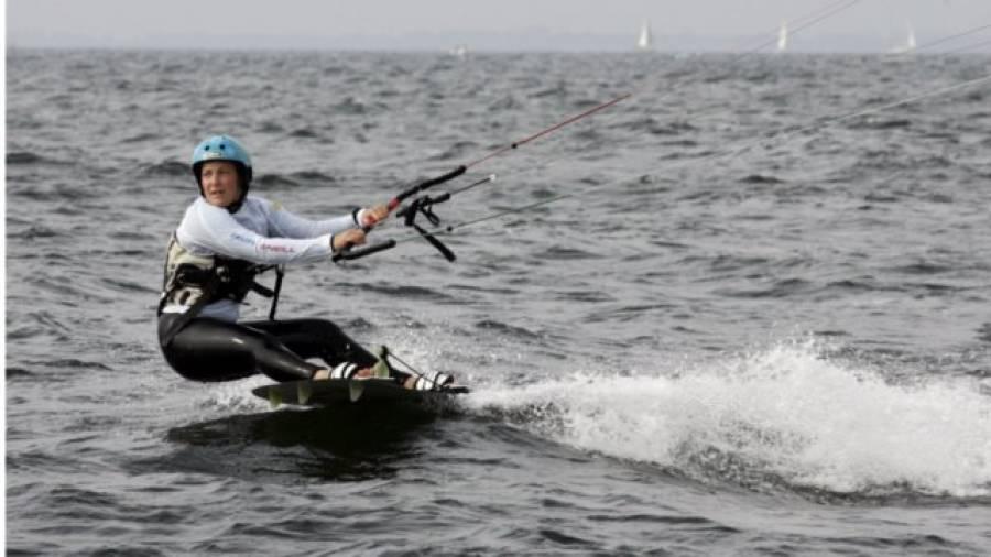 Christine Bönniger – Nach drei Jahren schon Deutsche Meisterin im Kitesurfen