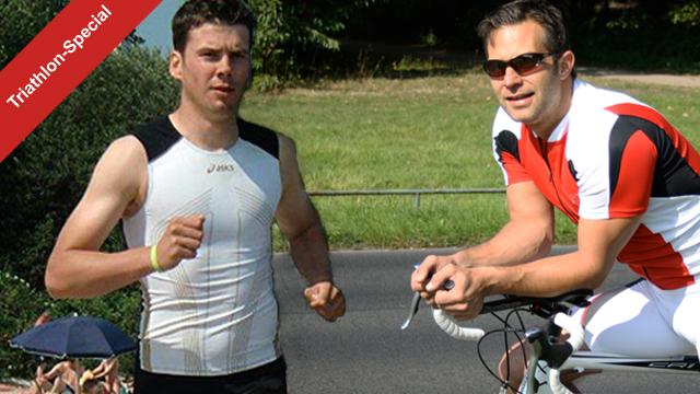 netzathleten auf dem Weg zum Triathlon
