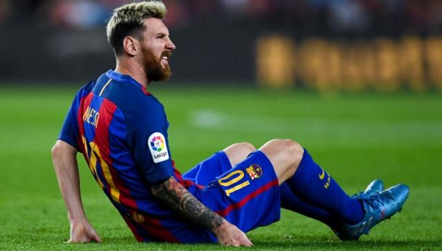 Messi fällt drei Wochen aus
