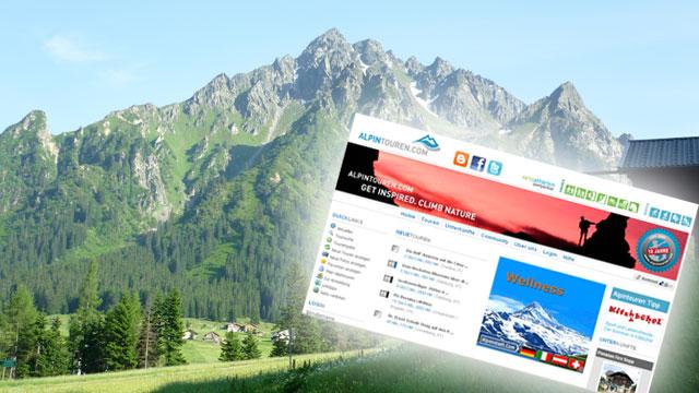 Mehr Sport im Netz: alpintouren.com