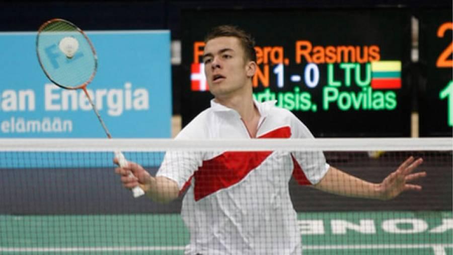 Badminton: Die dänische Nachwuchshoffnung Rasmus Fladberg - geschenkt gibt's nichts