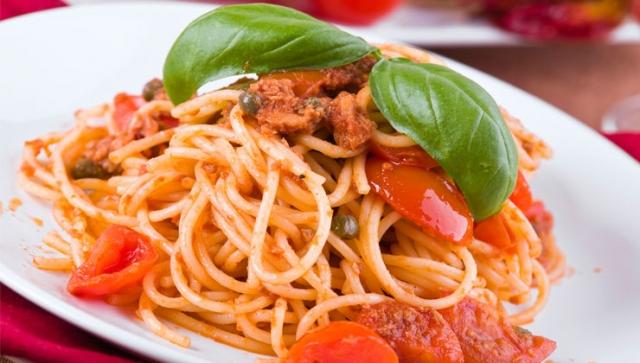 Pastaparty – Tomaten-Thunfisch-Pasta