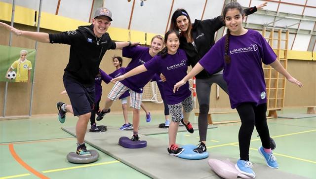 KICK MIT: Neues Laureus Sport for Good Projekt in Österreich