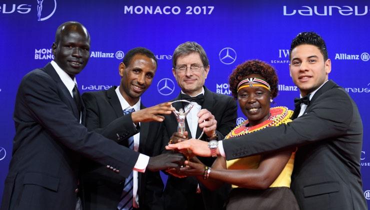 Sport for Good Award für Flüchtlingsteam