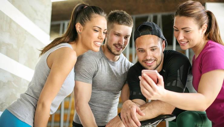 Sport mit Freunden – Vernetzt und motiviert dank Smartphone