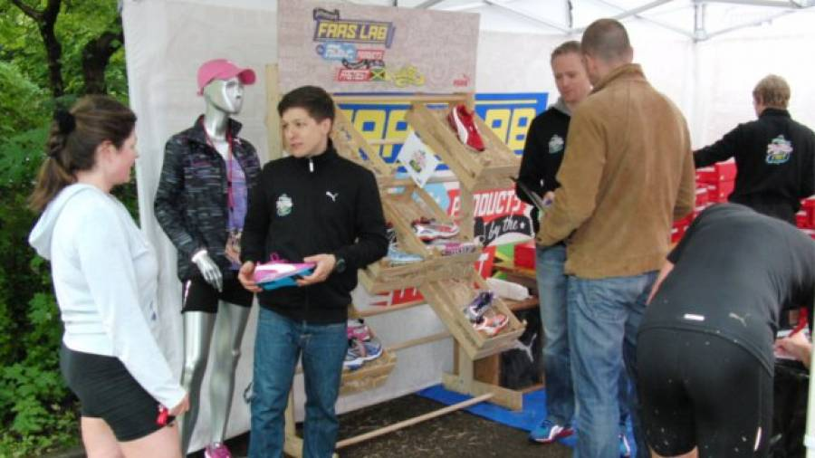 """Die Faaster is Funner-Tour 2011 – """"Natural running"""" in München"""