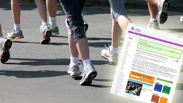 Mehr Sport im Netz: sport-und-training.de
