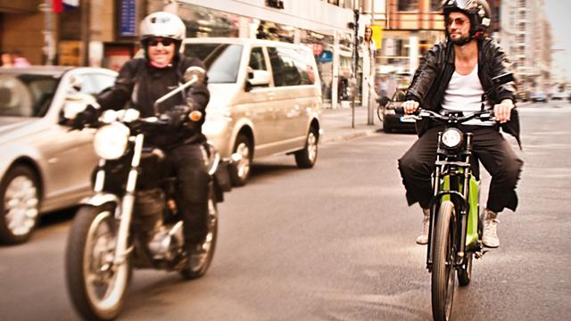 Elmoto, ein Elektro-Bike