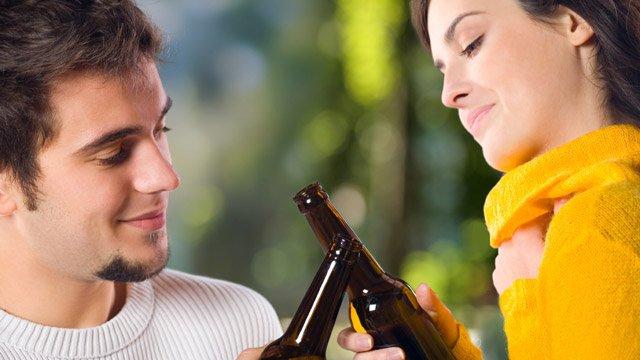 Die richtige Distanz beim Flirten