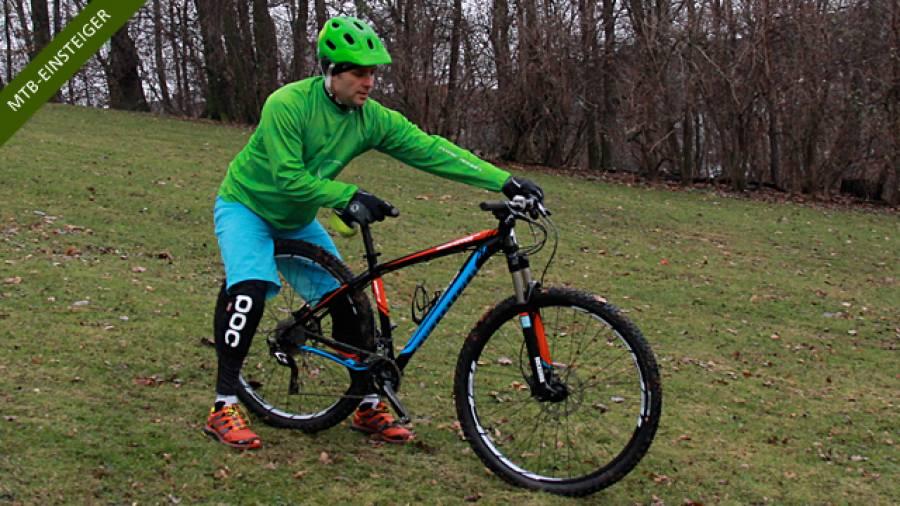 Sicher Absteigen – Mountainbiken für Einsteiger