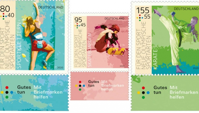 """Sporthilfe: Neue Briefmarken """"Für den Sport"""" jetzt erhältlich"""