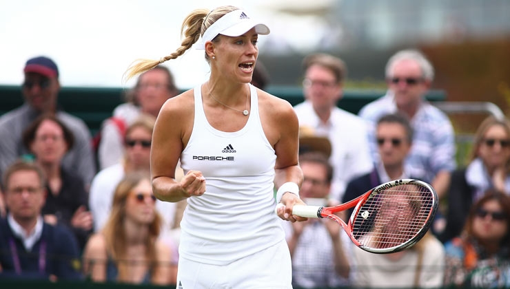 Update Wimbledon: Kerber souverän