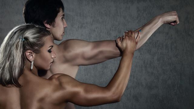Warum haben Männer mehr Muskeln als Frauen?