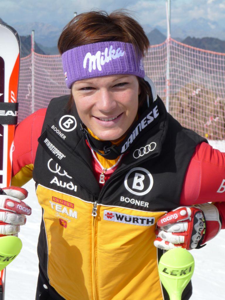 Maria Riesch nur 8. in der Abfahrt
