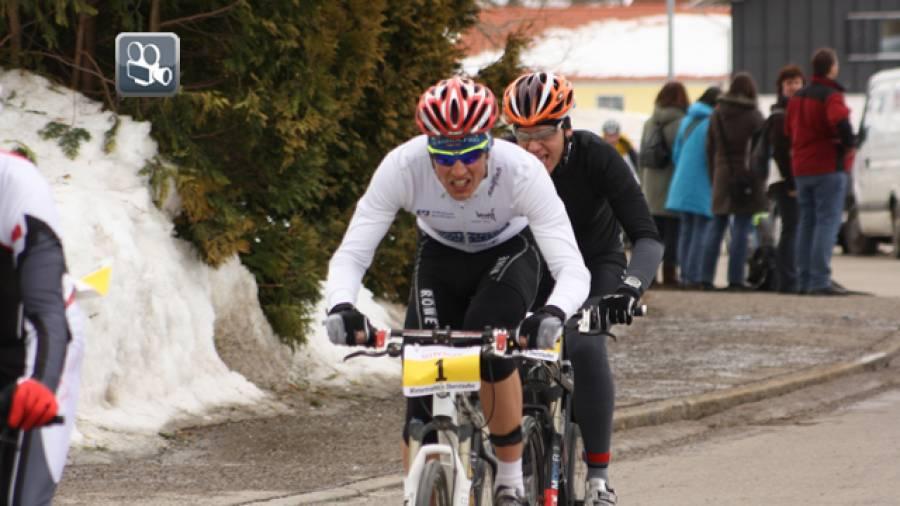 Wintertriathlon-DM in Oberstaufen