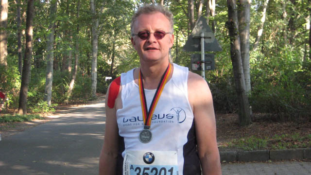 Ein Marathon zugunsten der Laureus Sport for Good Stiftung