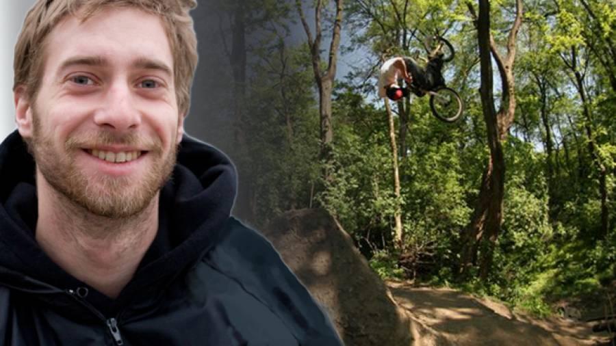 """""""Beim BMX zählst nur Du!"""" 10 Fragen an Benno Hankowetz."""