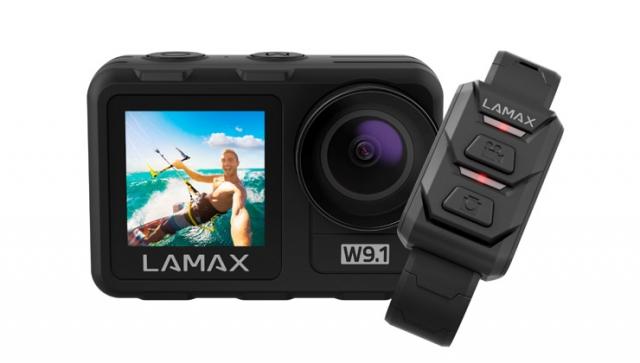LAMAX W9.1: Actioncam für jedes Abenteuer